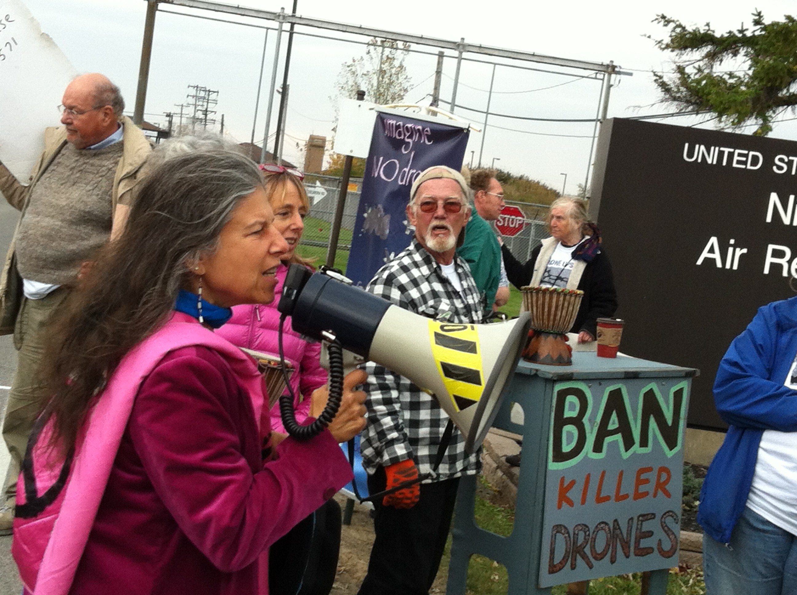 Vicki Ross, Acting Director of Western NY Peace Center