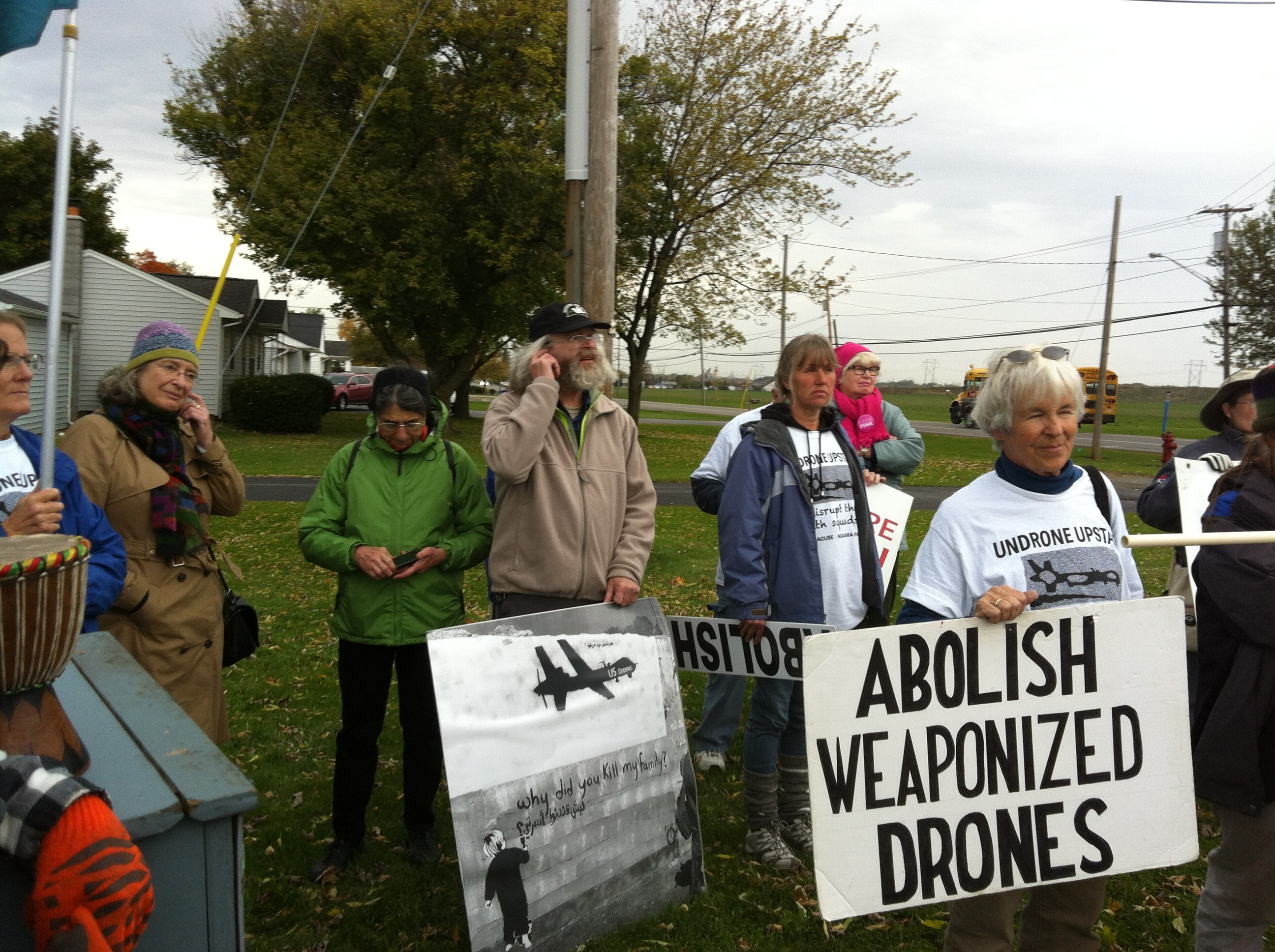 Abolish Weaponized Drones