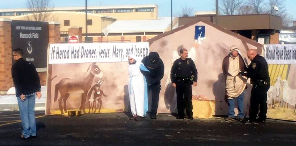 Mary and Joseph Arrested