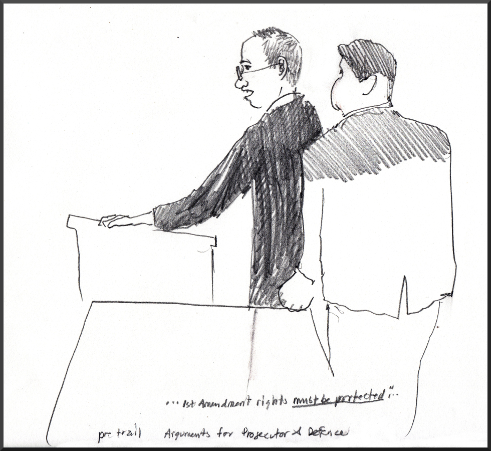 Wallace and Albert: Pretrial Motions